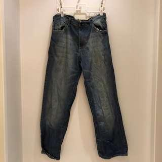 🚚 美國G-UNIT DENIM 深藍嘻哈牛仔褲