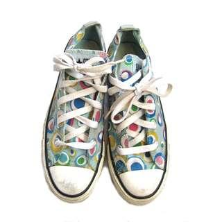 Converse Limited Edition Print Sneakers