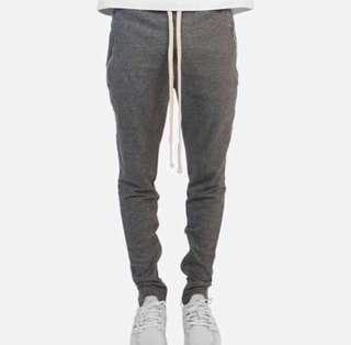 mnml LAX SWEATPANTS GREY/BLACK