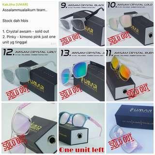 Sold out [Umar Sunglasses] Spek Eksklusif