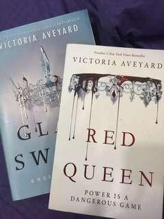 Red Queen & Glass Sword Set