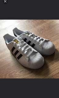 🚚 Adidas superstar 金標(全新)