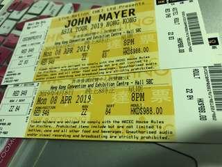 John Mayer Hong Kong Concert 988 category