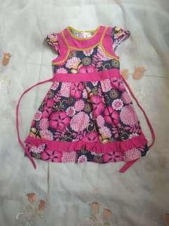 Dress anak 3-6 thn