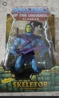 Masters of the Universe Motu Classics Skeletor Sealed