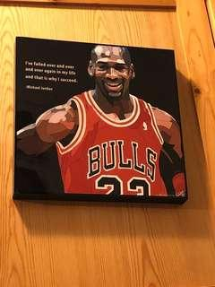 Michael Jordan 掛畫