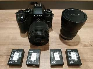 Panasonic Lumix G85, 12-60mm, 7-14mm
