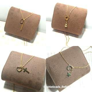 Infinity Stainless steel necklace
