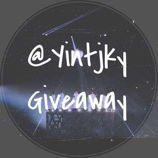 @Yintjky Giveaway 🎁
