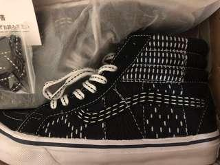 🚚 FDMTL X VANS WORK SK8-HI 高筒 刺子 帆布鞋 聯名 日本 限定 visvim 可參考
