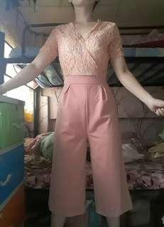 Branded get laud old rose jumpsuit