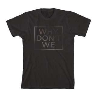 🚚 WHY DON'T WE Black Print T-Shirt