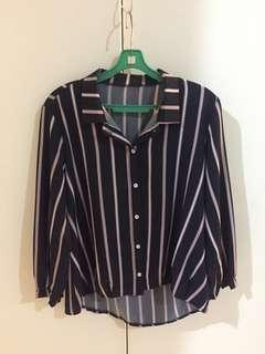 Striped blouse #STB50