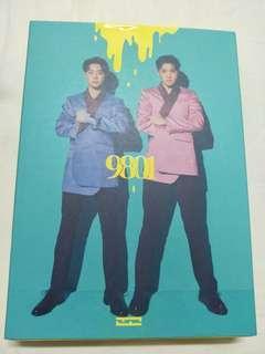 WTS Wooseok X Kuanlin 9801 Album