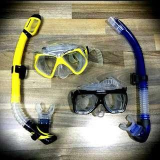 Rent Mask and Snorkels