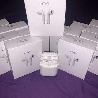 🚚 🔥AIRPODS I8S BLUETOOTH EARPHONES