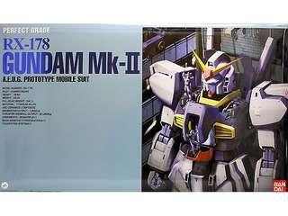 PG Mk ll Gundam perfect grade new set