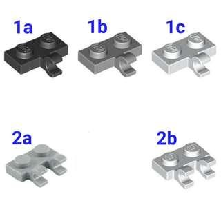 🚚 Lego Plate 1x2 with Horizontal Clip 1pc
