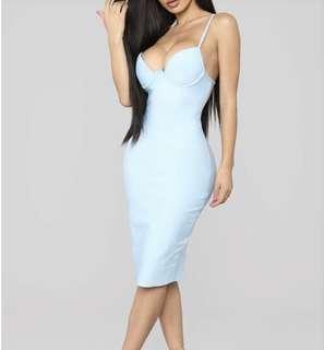 Women's sleeveless bodycon dress small