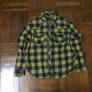 Levi's Levis Orange Tab 中古黃格Shirt 恤衫 襯衫