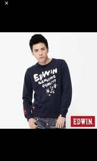 🚚 EDWIN圓領上衣