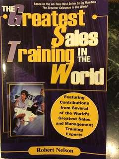 The Greatest Sales Training in the World