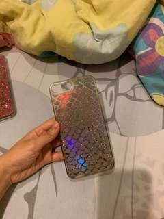 IPhone 8+ Mermaid Scales Holo Glitter Case