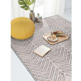 Scandi Rugs: Mono | Scandinavian Bedroom Living | Carpet