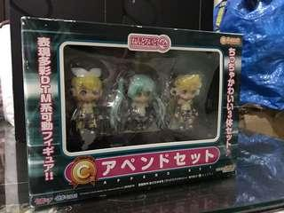 Miku Append Set C 賞 (New no open, but box damage as you seen at Pic) #STB50