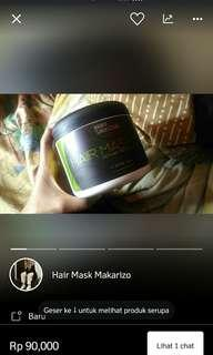 Makarizo hair treatment