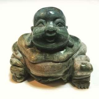 Natural Blood-Stone Laughing Buddha 2.5inch