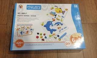 Toy bricks puzzle
