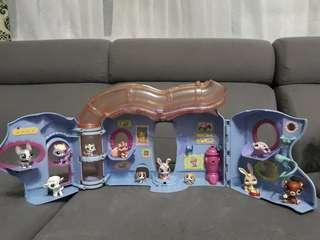 Littlest Pet Shop Little Pet Lovin' Playhouse