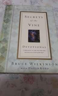 🚚 Secrets of the Vine by Bruce Wilkinson with David Kopp