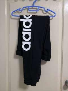 🚚 Adidas Black Sweatpants/Long Track Pants