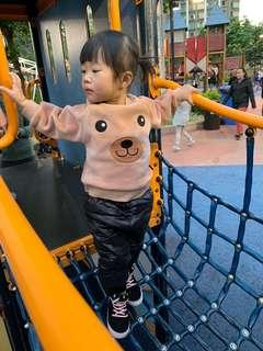 可愛動物衛衣