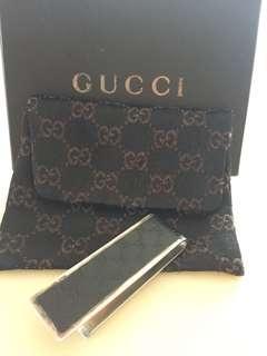 Authentic Gucci money clip