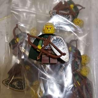 🚚 Lego Series 3 Elf Minifigure x 8. (Brand new, packed in ziploc, excellent condition)
