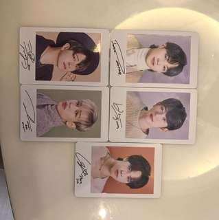 WTS Got7 road to you photocards