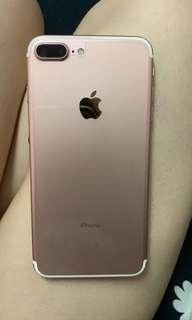 iPhone 7 Plus 玫瑰金128gb