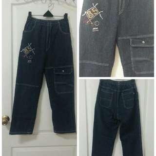 全新大童牛仔褲