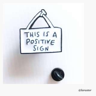 🚚 Bn signboard enamel pin