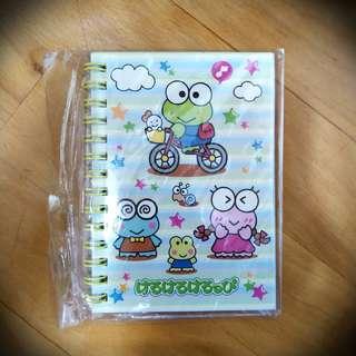 [包郵] Sanrio Keroppi notebook