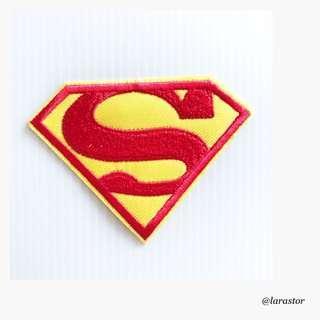 🚚 Bn superman logo iron on patch