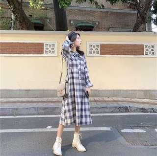 🚚 復古氣質洋裝