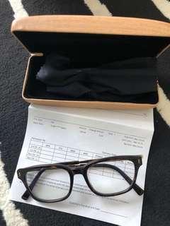 Whoosh glasses + frame