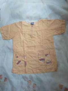 Baju popaye 3-6thn