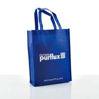 Customised bag print - non-woven carrier