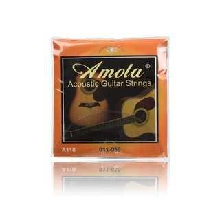Amola Pure copper Acoustic Guitar Strings A110 011-050