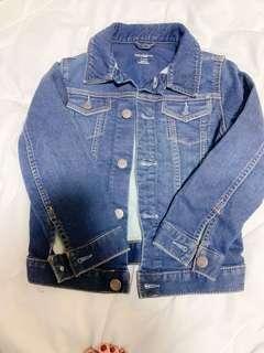 🚚 【近全新出清特賣】適合4-5Y孩童牛仔外套。只試穿過一次